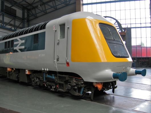 Diesellokomotive: 41001 im National Railway Museum, York